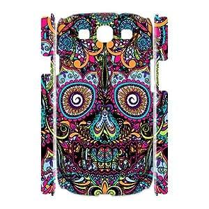 Diy Aztec Sugar Skull Custom for samsung galaxy s3 3D Shell Phone Cover Case LIULAOSHI(TM) [Pattern-1] by mcsharks