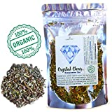 Modest Earth Crystal Clear Tea for Acne Treatment - Detox and Body Cleanse Herbal Tea - Organic and Natural 5 Dried Detox Roots - Blood, Lymph System, Liver, Skin Care - 16+ Cups Per Loose Leaf Pack