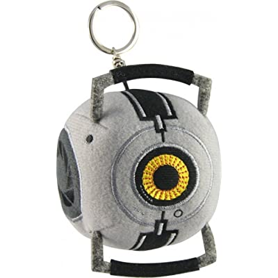 A Crowded Coop - Portal 2 Plush Keychain Space Sphere by Crowded Coop: Toys & Games