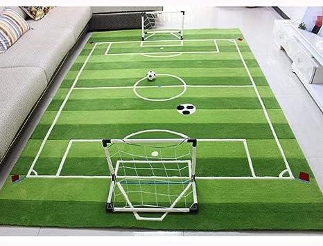 Tappeti Per Bambini Campo Da Calcio : Myydd ispessire handmade acrilico campo di calcio tappeto per