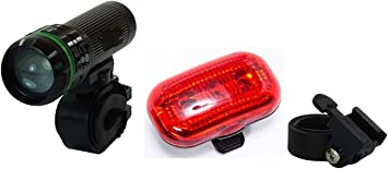 Kit de alumbrado LED para bicicletas. Luz delantera y trasera ...
