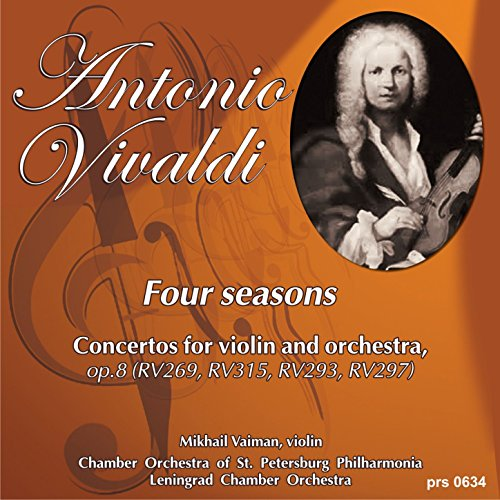 Antonio Vivaldi. Four Seasons. Concertos for Violin and Orchestra, Op.8: Concerto No.2 in G Minor,