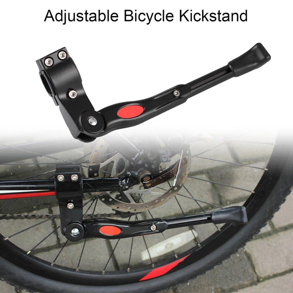 Snner Bicycle Side Kickstand Aluminum Alloy Adjustable Universal Road Bike Parking