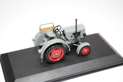 Eicher ed25ii 1951 tractor remolcador gris Grey 1:43
