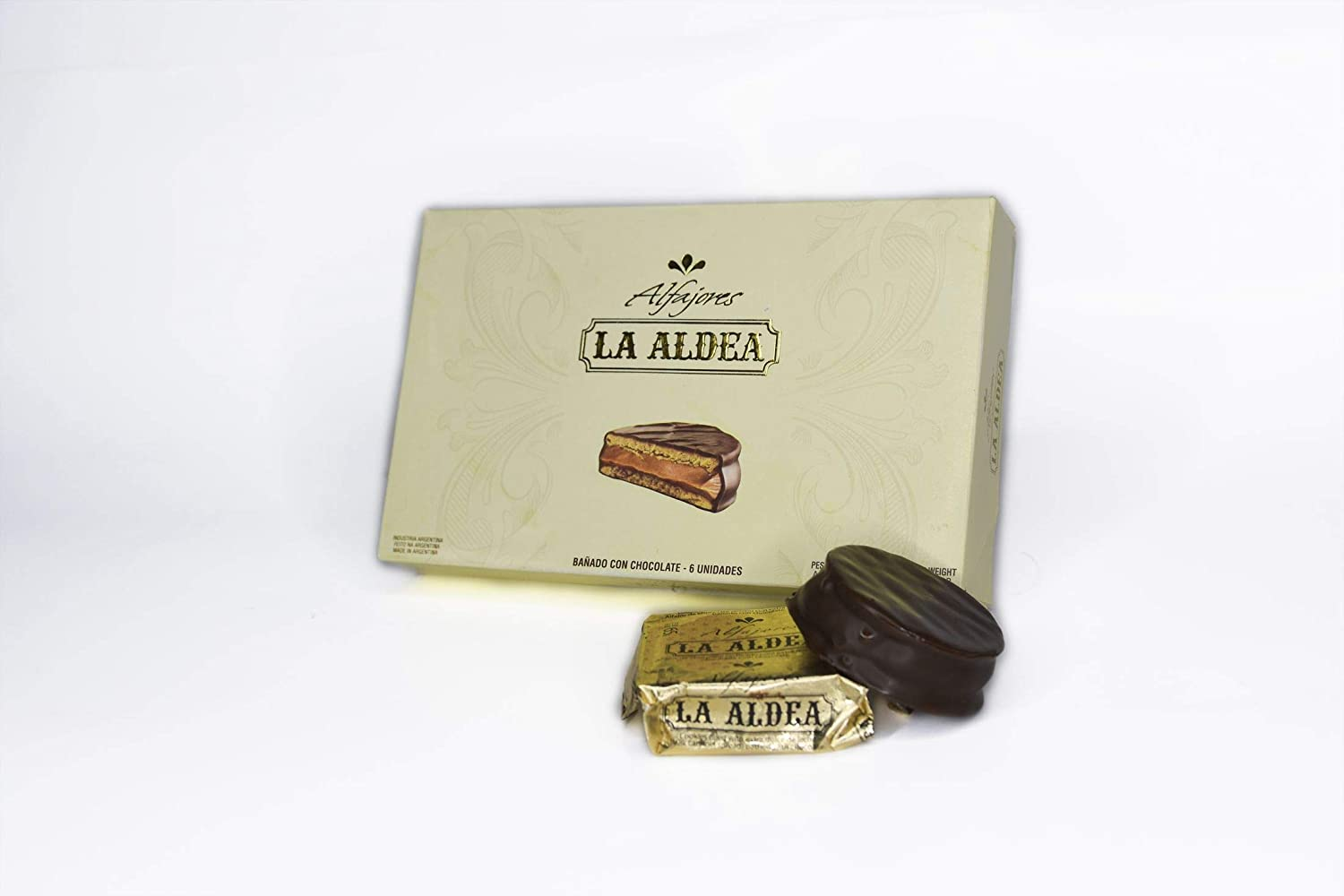 Amazon.com : Alfajores Argentinos de chocolate (6 unidades) : Grocery & Gourmet Food