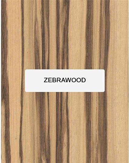 zebrano guitar fretboard blanks fingerboard Zebrawood