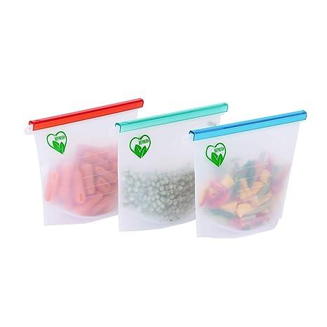 Amazon.com: BeFresh bolsas de almacenamiento de alimentos ...