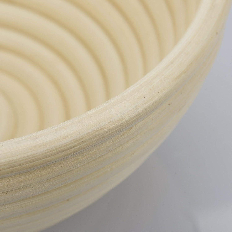 Diam/ètre 25 cm Westmark Banneton pour 1500 2000/g P/âte /à Pain Beige clair Rotin