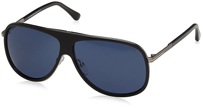 d7a7cd4ac177 Tom Ford - Lunette de Soleil Homme - Bleu (FT0463 92W 60)  Amazon.fr ...