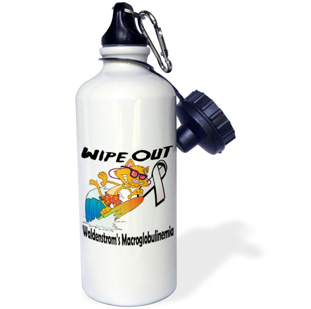 3dローズ2 WB _ 115585 _ 2フリップストロー水ボトル、21オンス B01N64ZH1W