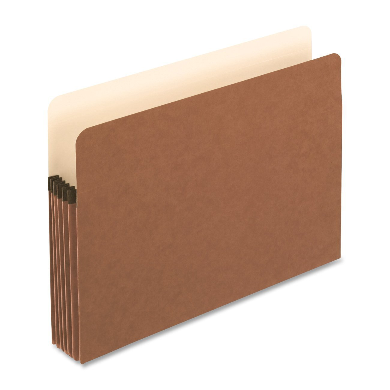Generic Standard Red Fiber Recycled File Pockets