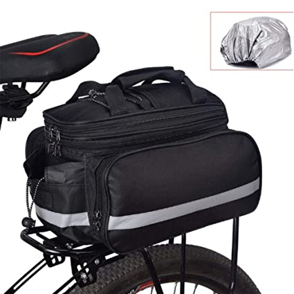 YAOBAO Bolsa para Bicicletas Pannier, con Alforjas Extensibles ...