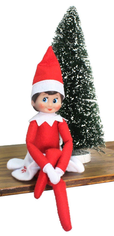 amazon com the elf on the shelf elf edition with north pole