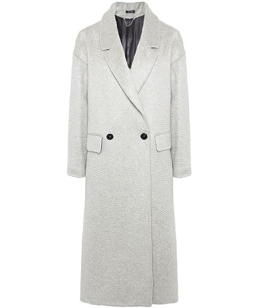Amazon.com: Paul Smith gris gris claro Oversized lana mohair ...