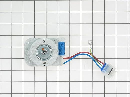 wiring diagram for an evaporator fan motor amazon com ge wr60x21887 refrigerator evaporator fan motor  refrigerator evaporator fan motor