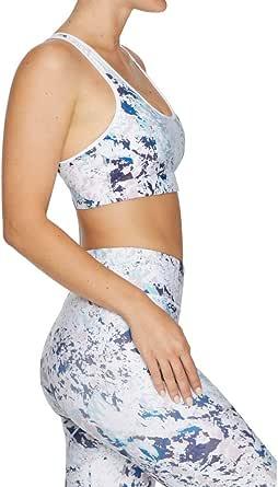 Rockwear Activewear Women's Mi Strappy Cross Back Bra From size 4-18 Medium Impact Bras For