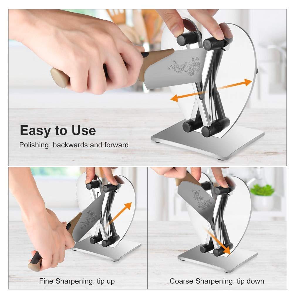 Amazon.com: Uarter profesional afilador de cuchillo de ...