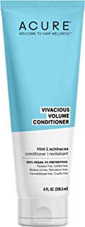 product image for Acure ACURE Vivacious Volume Conditioner - & Echinacea 100% Vegan, White/Blue, Mint, 8 Fl Oz