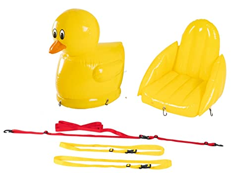Stand Up Floats Inflatable Toy Duck and seat easily attaches to any SUP  paddle board with f086d1c8f81b