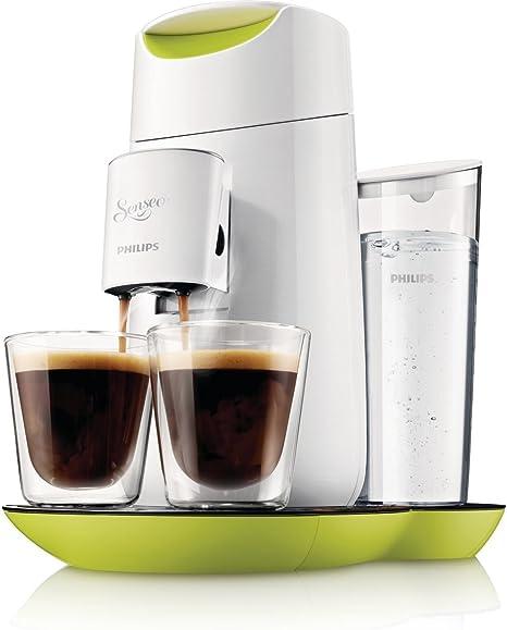 Philips Senseo Twist - Cafetera monodosis, color verde y blanco (importada): Philips: Amazon.es: Hogar