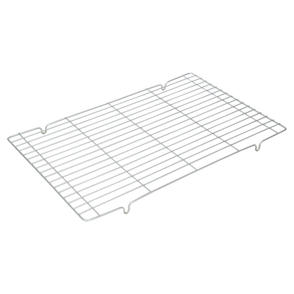 """Chrome-Plated Wire Mesh Cake Cooling Rack/Trivet / Roasting Rack, Rectangular 42 x 27 cm (17"""" x 10.5"""") - Cool Them Off just Enough to eat Wilko 0656K"""