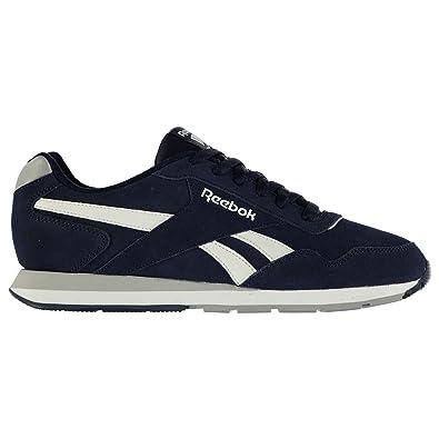 426628040482 Reebok Herren Glide Velours Turnschuhe Sportschuhe Sneaker Freizeit Schuhe  Navy Grey White 9 (
