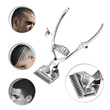 Hair Care & Styling New Fashion Portable Manual Hand Hair Clippers Stainless Steel Hair Trimmer Cutter Machine Barber Hair Scissor Tools For Adult Baby And Pet
