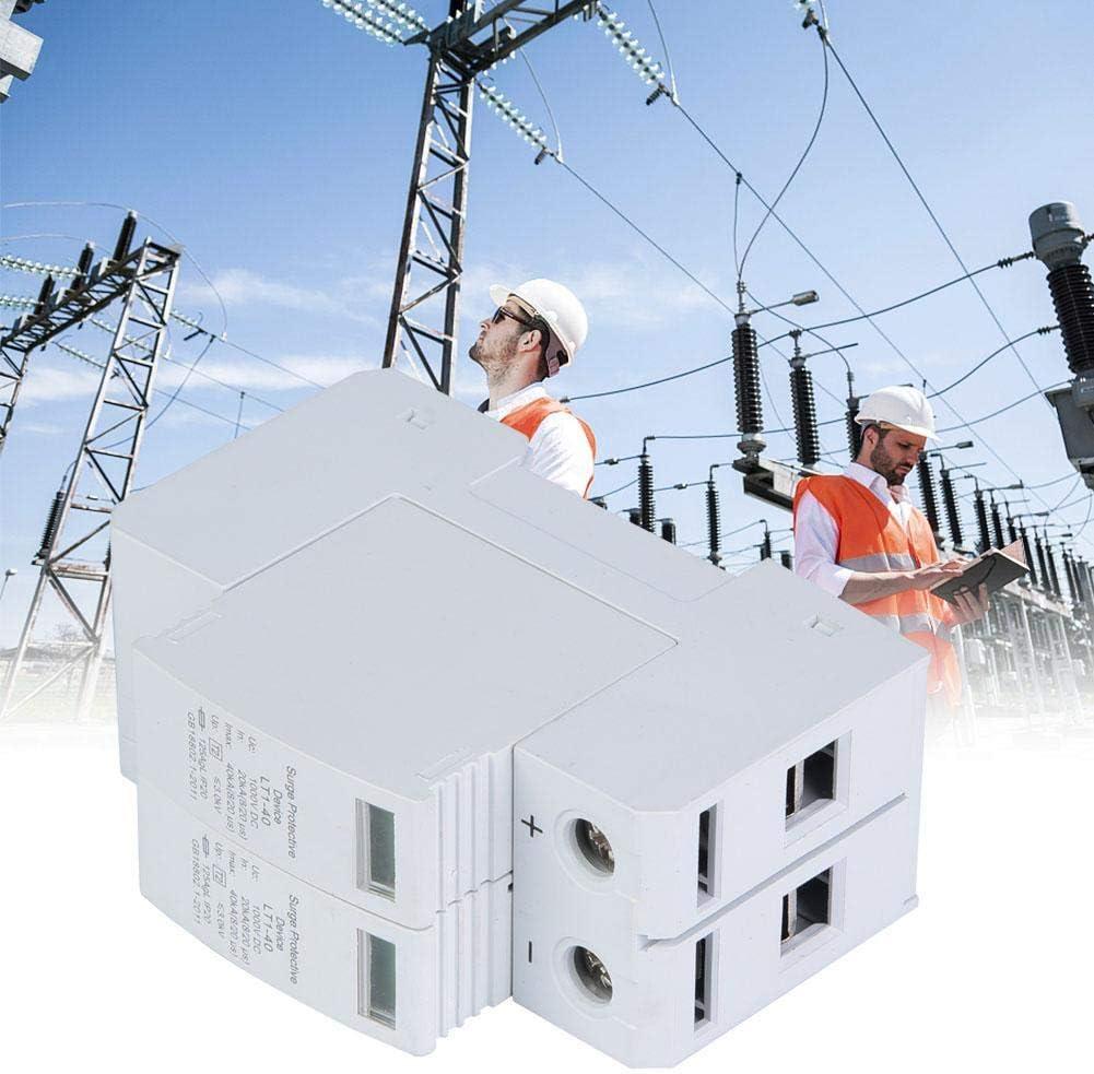 2P 20 20KA 40KA DC Photovoltaik Blitzschutz Niederspannungsableiter Hochpr/äziser Schutz /Überspannungsschutz