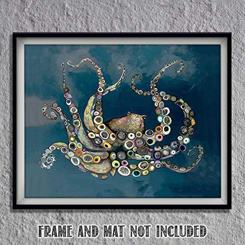 (Octopus Animated- 8 x 10