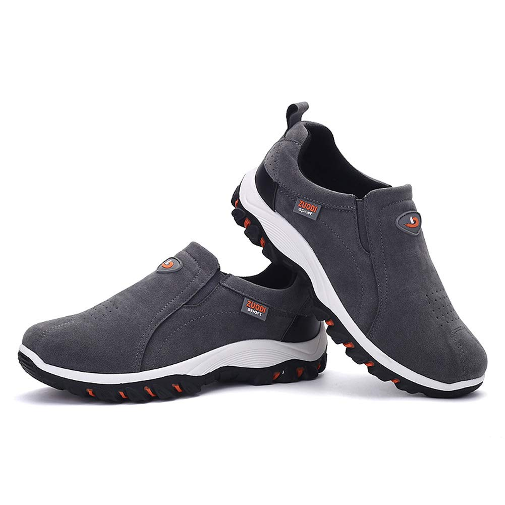 Qiucdzi Mens Casual Sport Shoes Breathable Hiking Outdoor Sneakers for Running Gym