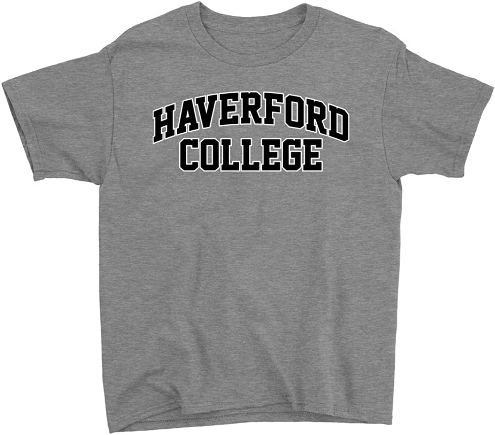 NCAA Haverford College Squirrels HAVER07 Youth T-Shirt
