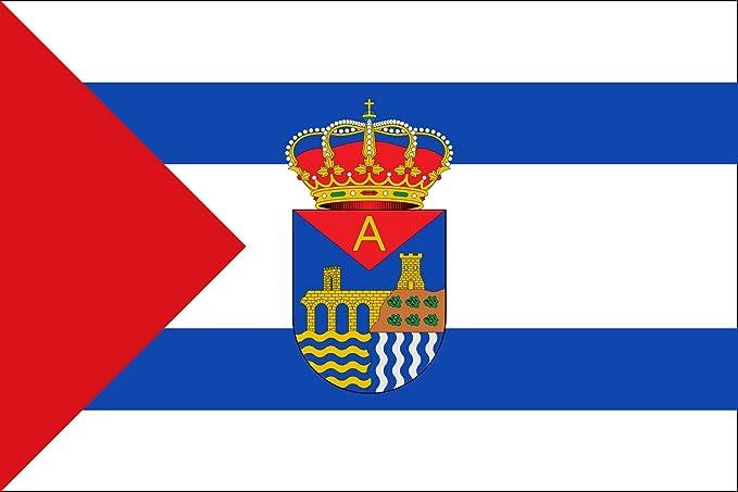 magFlags Bandera Large Garrovillas de Alconétar, Cáceres, España   Bandera Paisaje   1.35m²   90x150cm: Amazon.es: Jardín