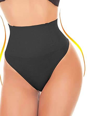 d7a8a10d22827 SEXYWG Women Waist Cincher Girdle Tummy Control Thong Panty Slimmer Body  Shaper at Amazon Women s Clothing store