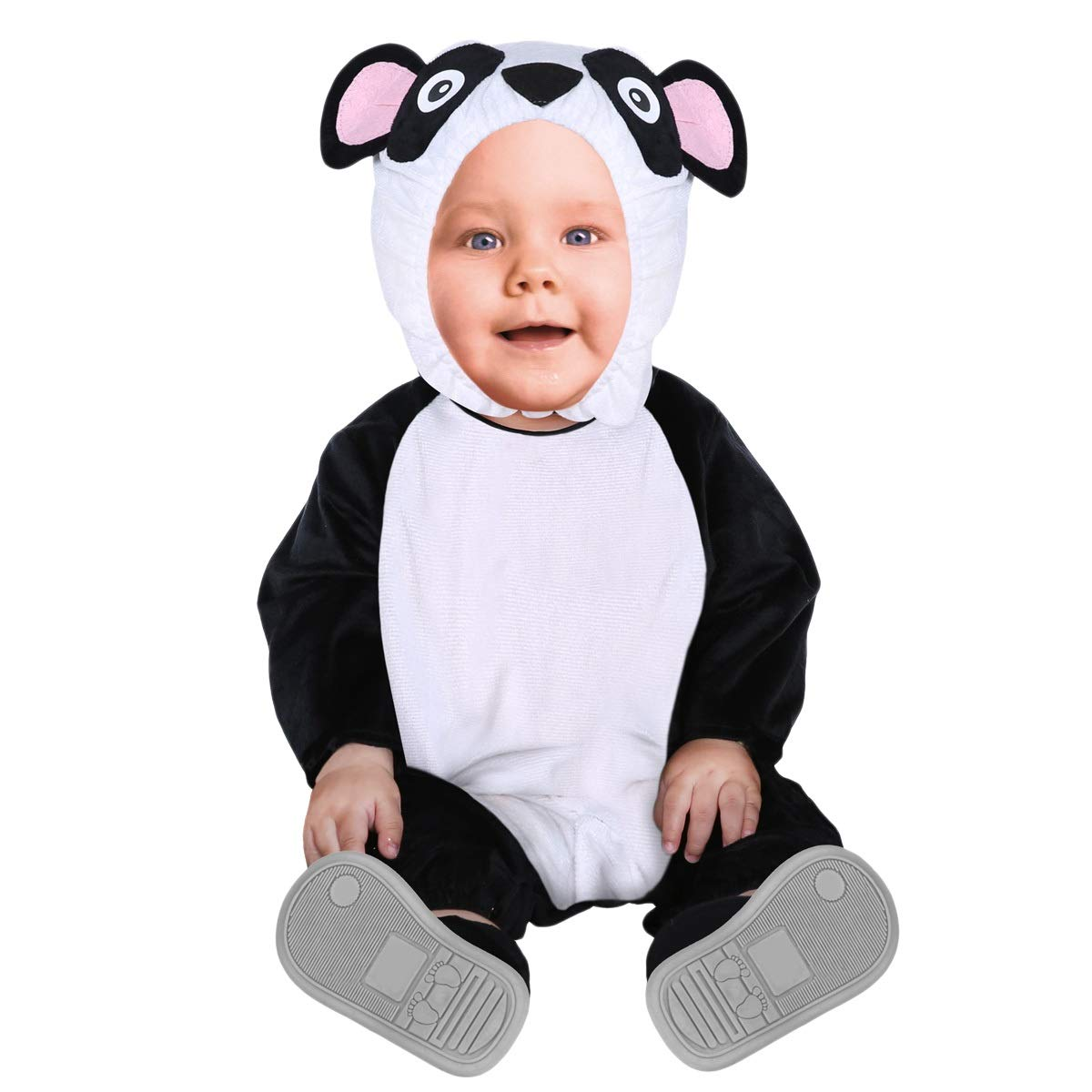 Shanghai Story Baby Animal Hooded Romper Flannel Jumpsuit Unisex Infant Pajamas Outfits Costume