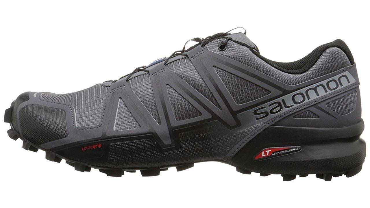 Salomon Men's Speedcross 4 Trail Runner, Dark Cloud, 7 M US by Salomon (Image #14)