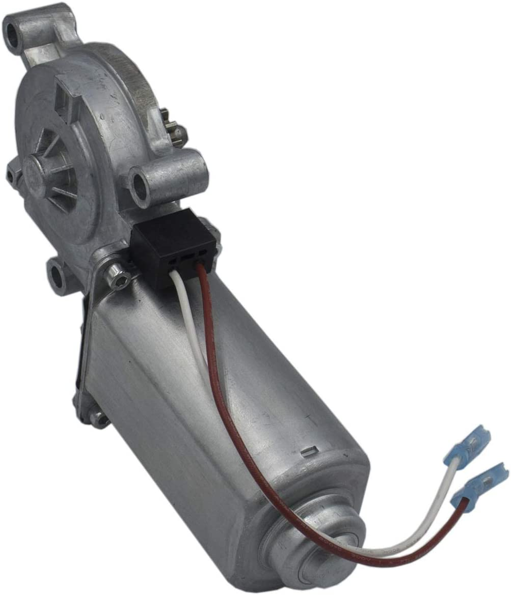 Pitched and Short Assemblies 266149 RV Motorhome Power Awning Motor 12-Volt DC 75-RPM Compatible with Solera Power Awnings Including Flat