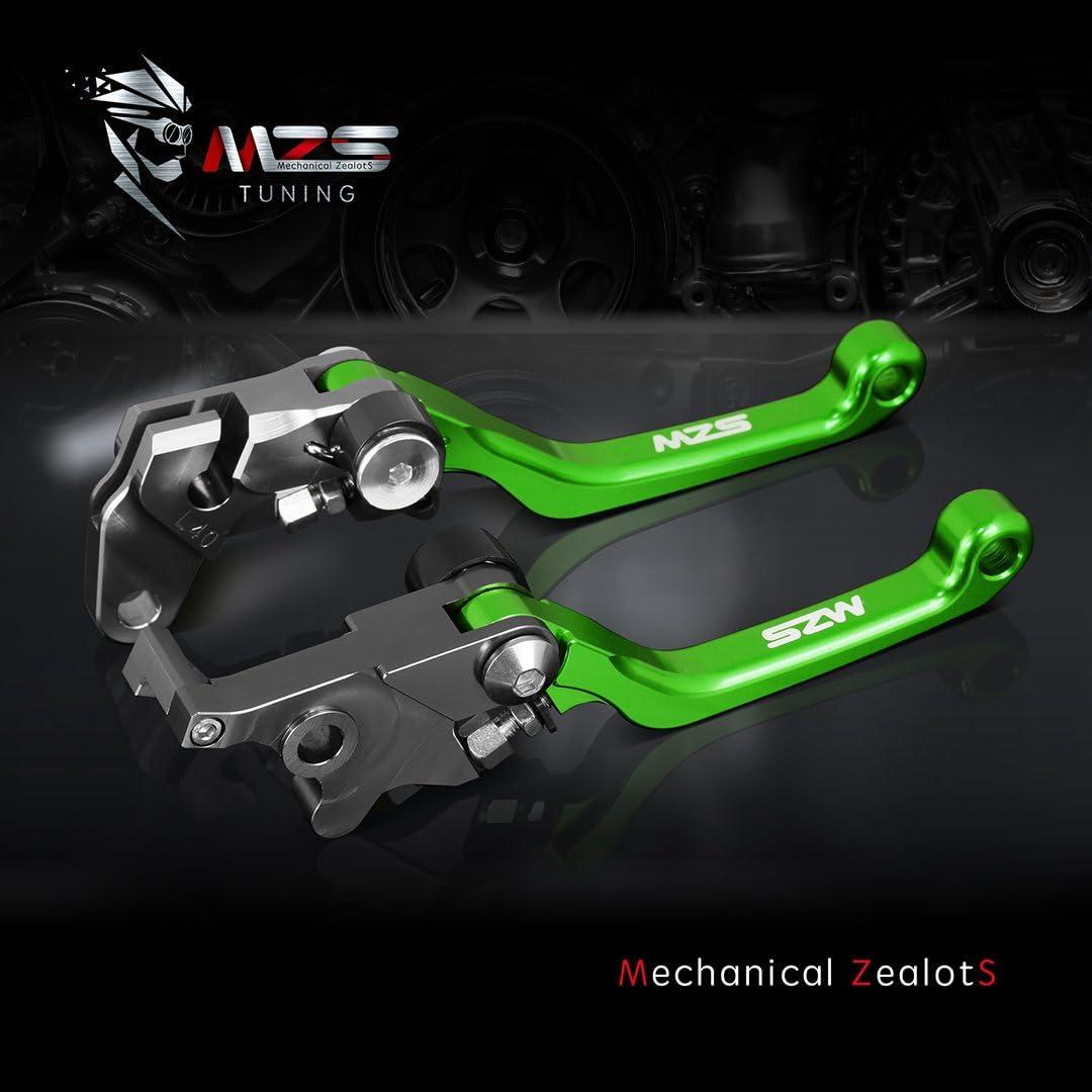 MZS PT-4025 Clutch Brake Levers Pivot Adjustment CNC Black