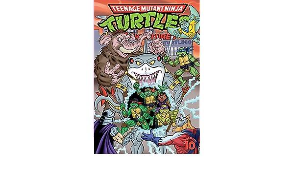 Teenage Mutant Ninja Turtles Adventures Vol. 10 (English ...