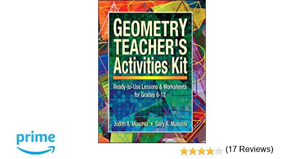 Free Worksheets education com free worksheets : Amazon.com: Geometry Teacher's Activities Kit: Ready-to-Use ...