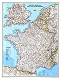 France, Belgium, and The Netherlands Classic Wall Map Map Type: Standard (23'' x 30'')