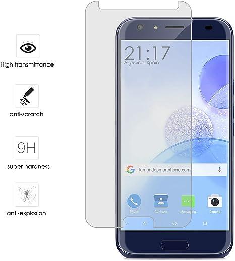 Tumundosmartphone Protector Cristal Templado para DOOGEE BL5000 ...