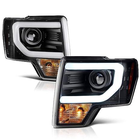 2014 F150 Headlights >> Amazon Com For 2013 2014 Ford F 150 Pickup Truck Xenon Hid