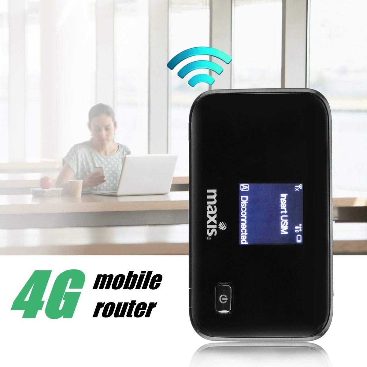 3G 4G LTE Routers Portable Wireless Mobile Hotspot Router SIM TF Card Slot for Cellphone by Beizuu (Image #2)
