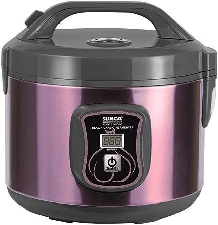 TOPQSC Fermentador de ajo Negro Todo-en-uno máquina de fermentación Inteligente ajo pote eléctrico para hogar Olla de ajo Negro automático (3L): Amazon.es: Hogar