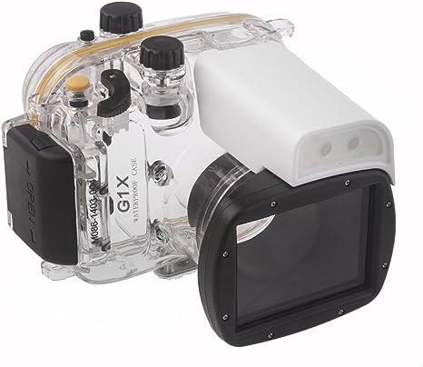Neewer – 10075210 bajo Agua Funda para cámara Canon PowerShot G1 X ...