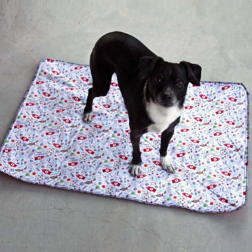 Washable Housebreaking Pad by PiddleWeePads. Reusable, Poochpads Replacement (Small), My Pet Supplies
