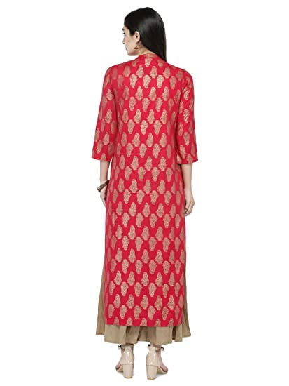 Indian Women Designer Curidar Kurti Tunic Ethnic Top Dress