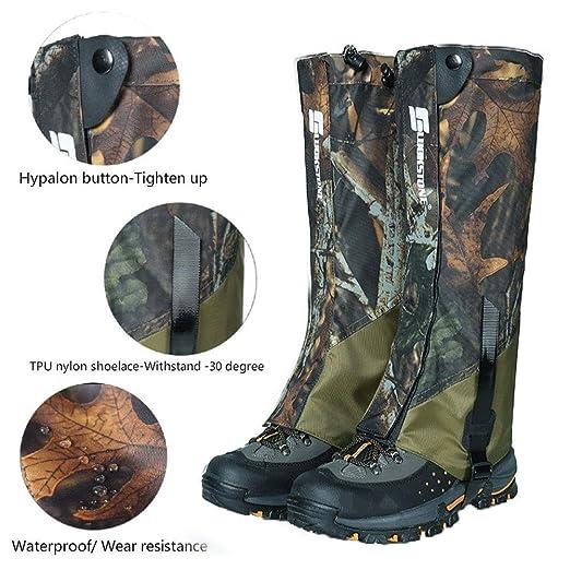 Yeshai3369 - Falda impermeable de alta pierna, manga de botas de ...