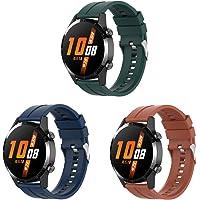 Bexido 22mm Siliconen Sport Horloge Band Armband Armband Vervanging Band Compatibel met Garmin Venu 2/Vivoactive 4…