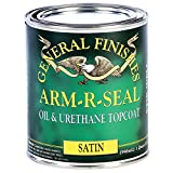 General Finishes ASQT Arm-R-Seal Urethane, 1 quart, Satin